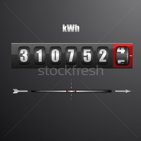 electric meter Stock photo © unkreatives
