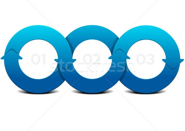 Détaillée illustration circulaire modèle Photo stock © unkreatives