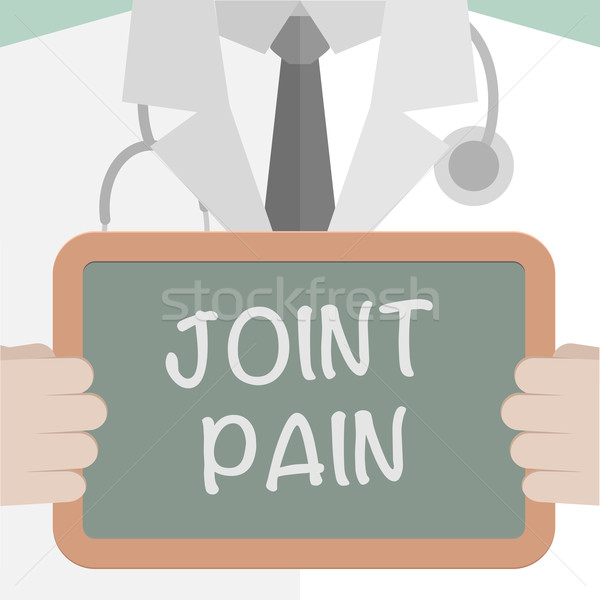 Medical Board Joint Pain Stock photo © unkreatives