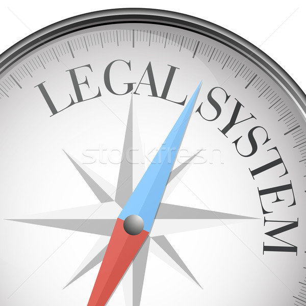 compass Legal System Stock photo © unkreatives