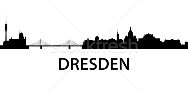 Skyline Dresden Stock photo © unkreatives