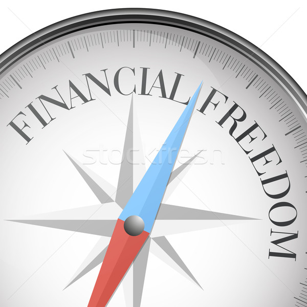 financial freedom Stock photo © unkreatives