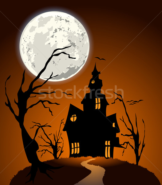 creepy mansion Stock photo © unkreatives