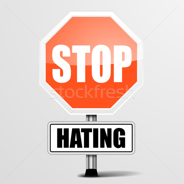 Stop Hating Stock photo © unkreatives