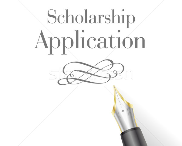 Scholarship Application letter Stock photo © unkreatives