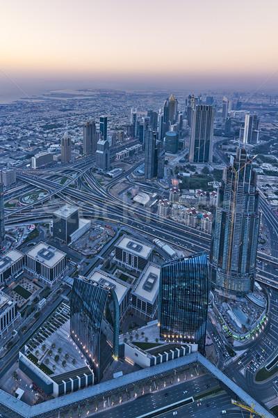 Dubai aerial view Stock photo © unkreatives