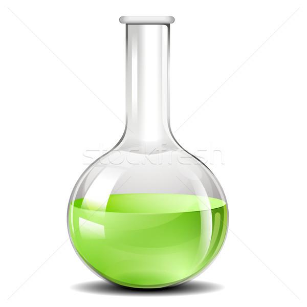 Chemistry Testing Flask Stock photo © unkreatives