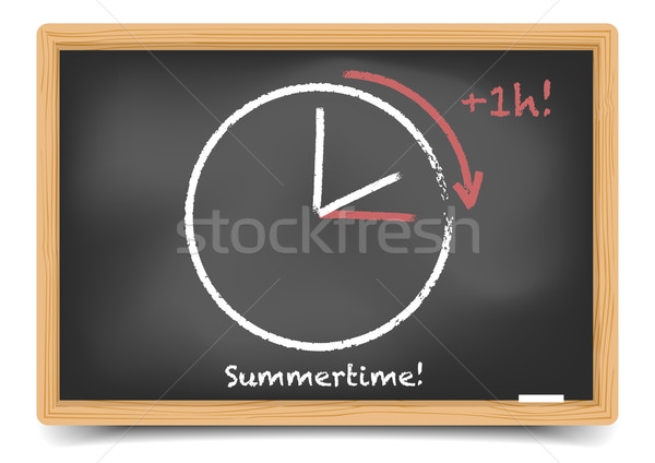 daylight saving summer Stock photo © unkreatives
