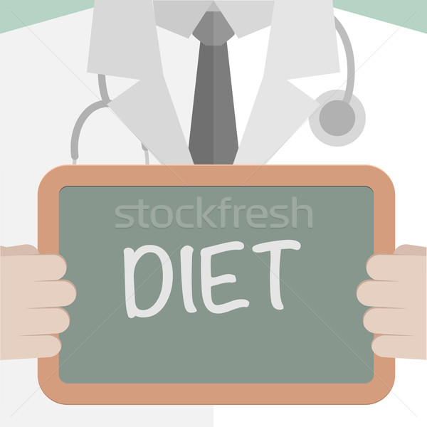 Medical Board Diet Stock photo © unkreatives