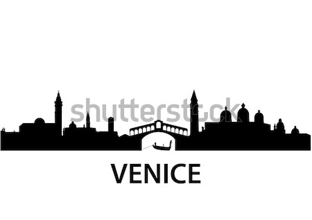 Skyline Venice Stock photo © unkreatives