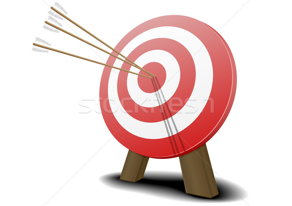 target with arrows Stock photo © unkreatives