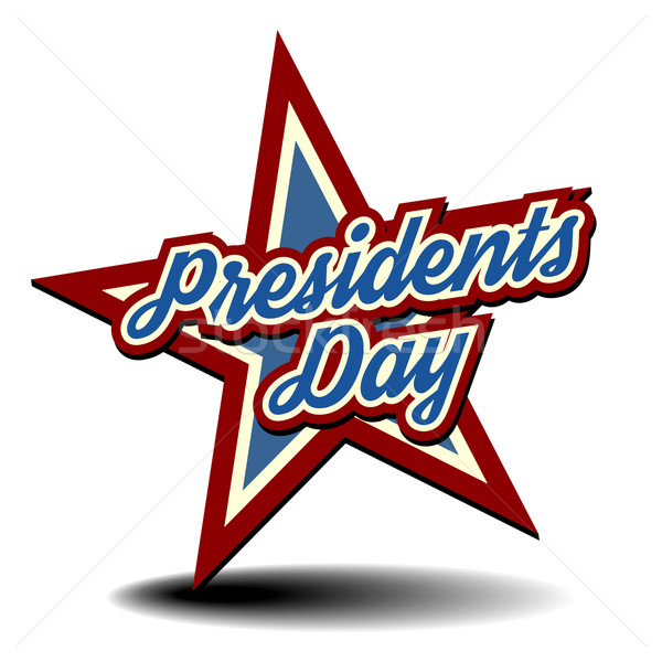 Presidents Day Star Stock photo © unkreatives