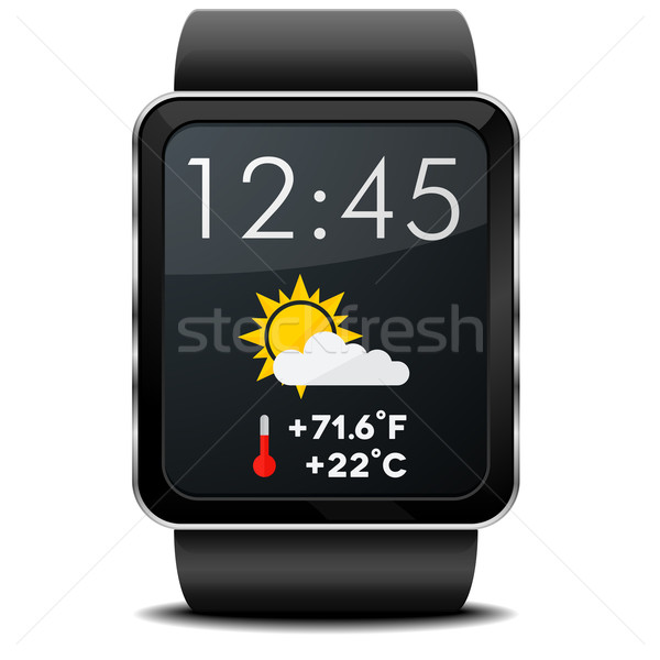 Smartwatch Weather Stock photo © unkreatives