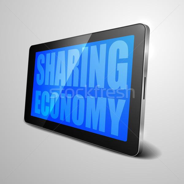 Sharing Economy Stock photo © unkreatives