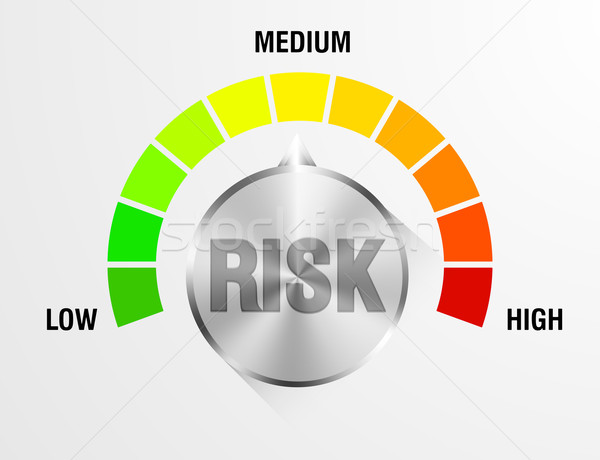 Risk Meter Stock photo © unkreatives
