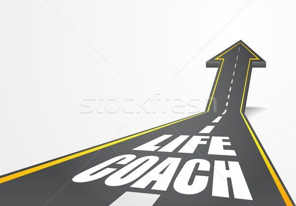 road Life Coach Stock photo © unkreatives