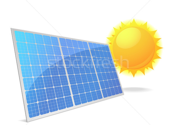 Solarzellen_06 Stock photo © unkreatives