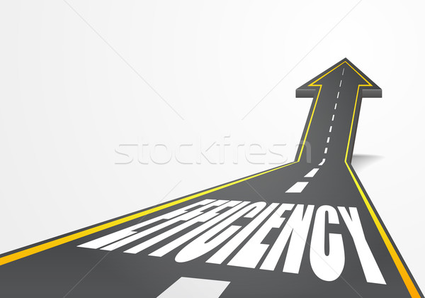 Estrada eficiência detalhado ilustração rodovia para cima Foto stock © unkreatives