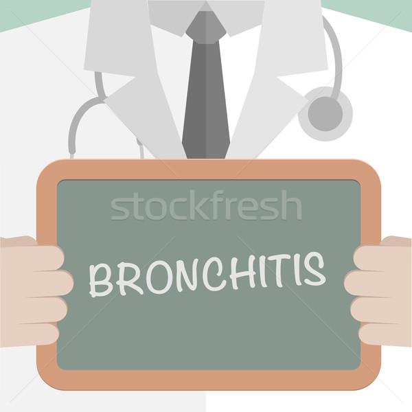 Bronchitis Stock photo © unkreatives