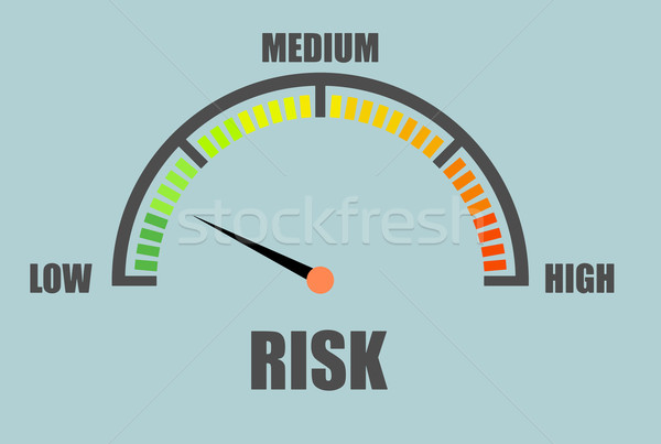 Risk Meter concept Stock photo © unkreatives