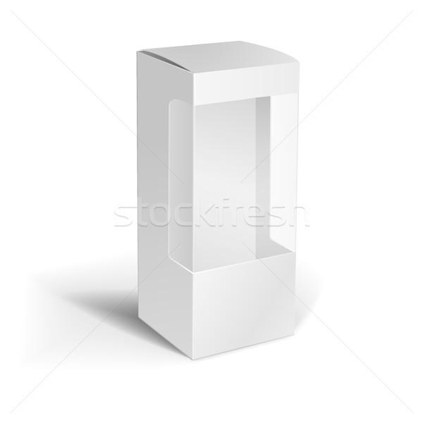 white box template Stock photo © unkreatives