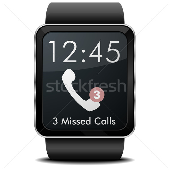 smartwatch missed calls Stock photo © unkreatives