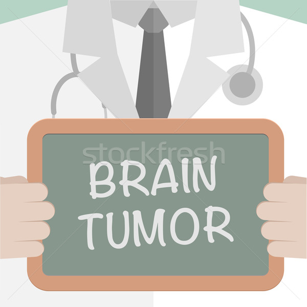 Medical Board Brain Tumor Stock photo © unkreatives