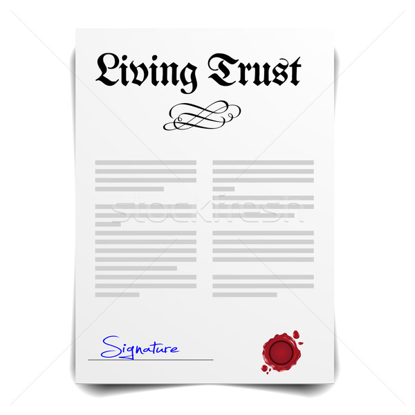 Living Trust Stock photo © unkreatives