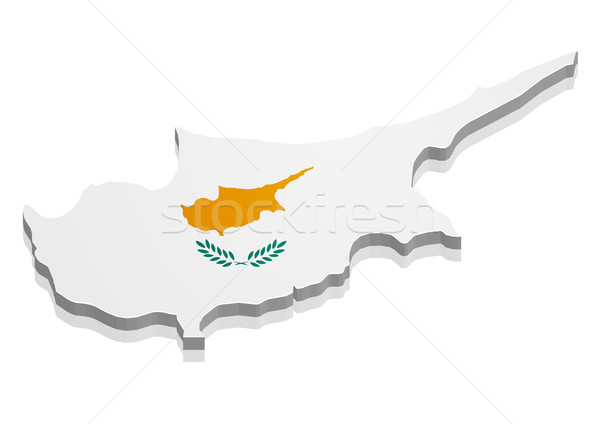 Map Cyprus Stock photo © unkreatives