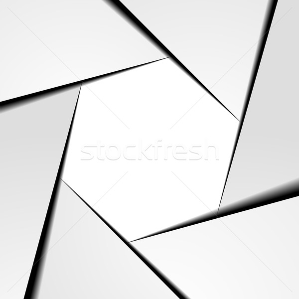 Hexagram infographic Stock photo © unkreatives