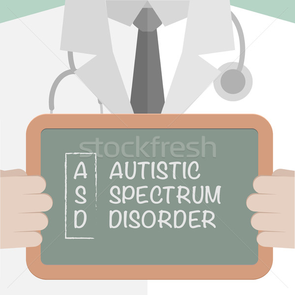 Medical Board ASD Stock photo © unkreatives