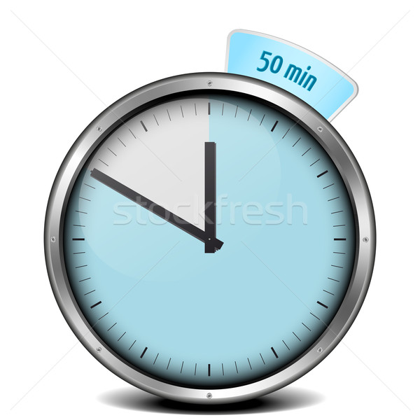50min timer Stock photo © unkreatives