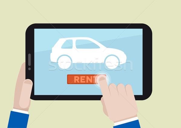 rent a car Stock photo © unkreatives
