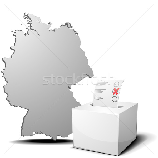 vote germany Stock photo © unkreatives