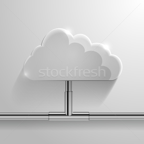 cloud networking Stock photo © unkreatives