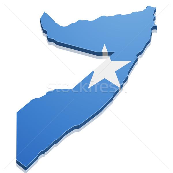 Map Somalia vector illustration © Felix Pergande (unkreatives ...