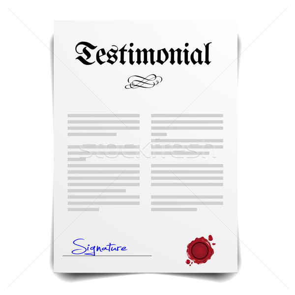 Testimonial Stock photo © unkreatives