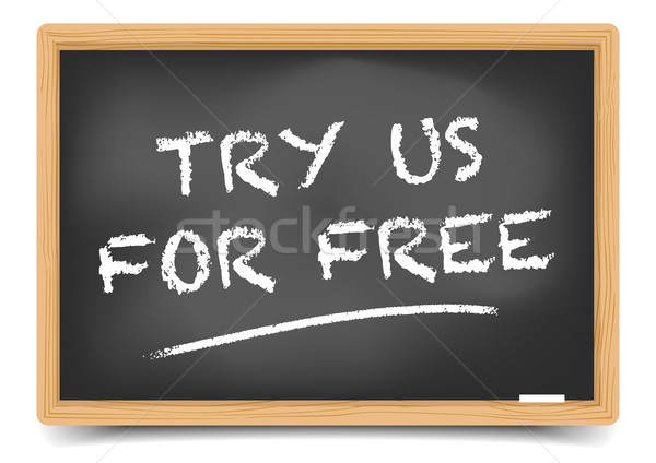 Try For Free Stock photo © unkreatives
