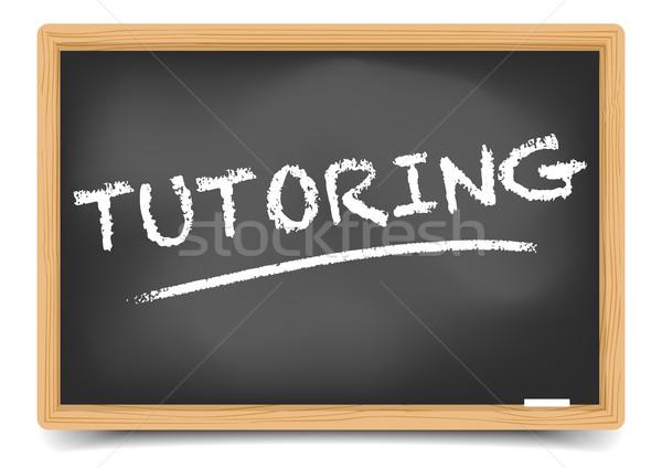 Blackboard Concept Tutoring Stock photo © unkreatives