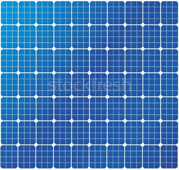 solar cells pattern Stock photo © unkreatives
