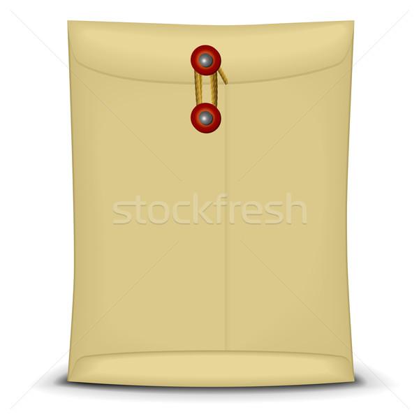 Enveloppe chaîne illustration fermé affaires bureau Photo stock © unkreatives