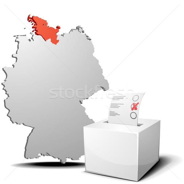 vote germany schleswig holstein Stock photo © unkreatives