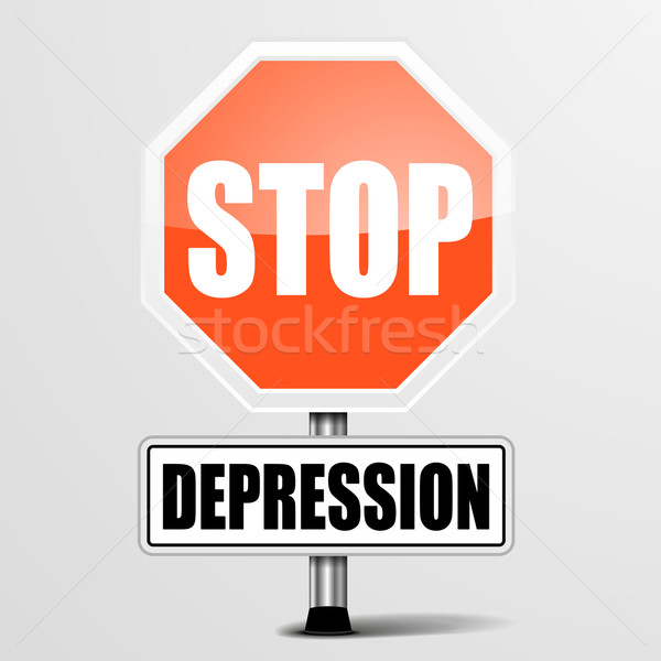 Stop Depression Stock photo © unkreatives