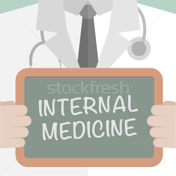 医療 ボード 内部 薬 実例 ストックフォト © unkreatives