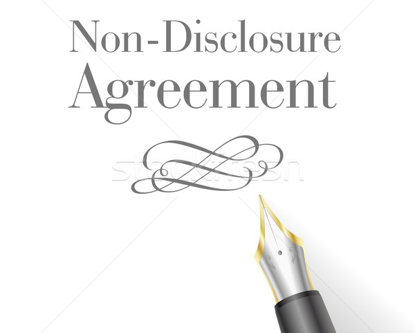 Non-Disclosure Agreement Stock photo © unkreatives