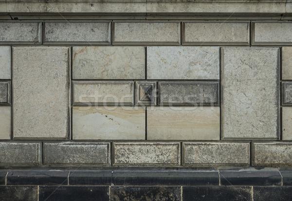 Mur fasada starych wyblakły tekstury budowy Zdjęcia stock © unkreatives