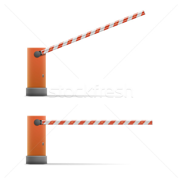Car barriers Stock photo © unkreatives