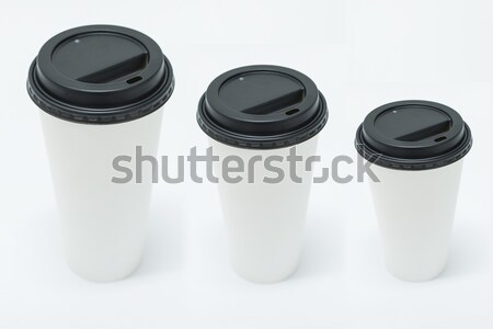 takeaway coffee cups Stock photo © unkreatives
