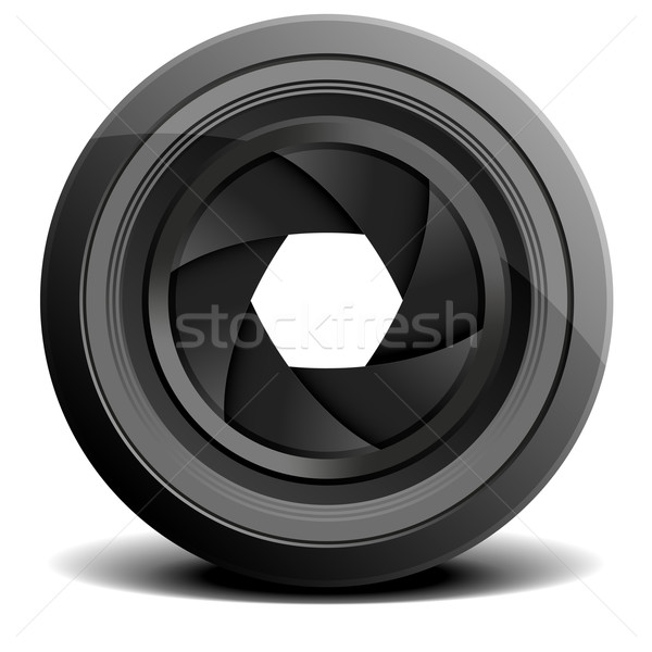 lens_01 Stock photo © unkreatives