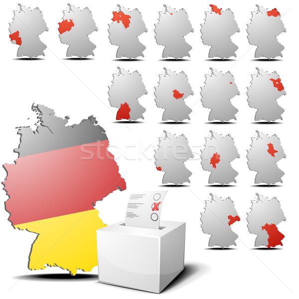 election set germany Stock photo © unkreatives